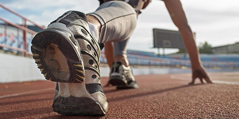 Características de los pies de los corredores